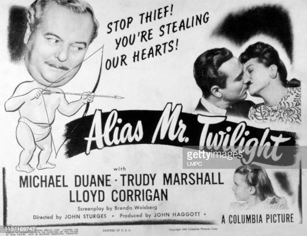 Alias Mr Twilight posterAlias Mr Twilight from left Lloyd Corrigan Michael Duane Trudy Marshall Gigi Perreau 1946