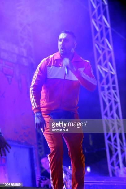 Alias Ssiawosh Sadat - der deutsche Rapper und Produzent mit afghanischer Abstammung - Konzert beim Hurricane Festival 2017: Rock- und Alternative...