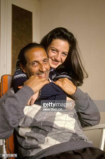 AliAuguste Bourequat libere apres 18 annees d'emprisonnement avec ses freres JacquesBayazid et RenMidhat au Maroc le 5 janvier 1992 a Paris France