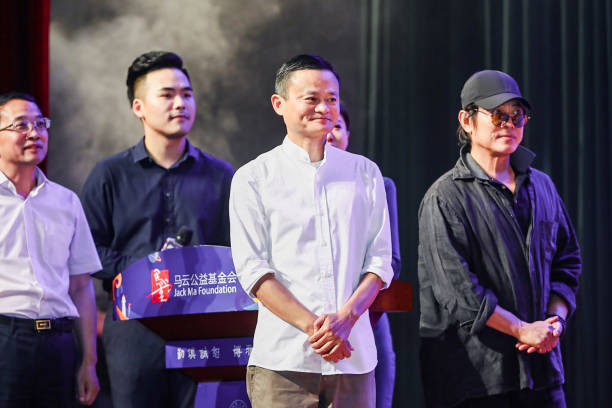 CHN: Jack Ma Attends Rural Teachers Launch Ceremony In Hangzhou