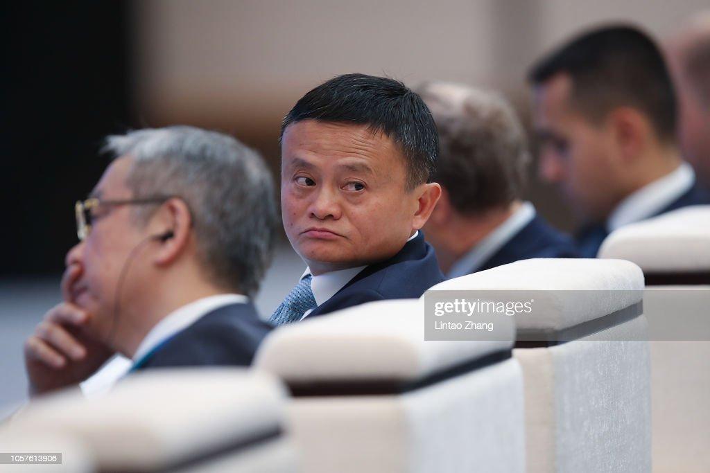 China International Import Expo (CIIE) - Day One : News Photo