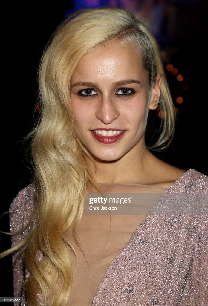 Alica Dellal attends the Love Ball London at the Roundhouse on February 23, 2010 in London, England. The event was hosted by Russian model Natalia Vodianova, which raised money for her charity The Naked Heart Foundation. The model teamed up with Harper's Bazaar and De Beers for the event, which is similar to a previous ball held in Moscow.