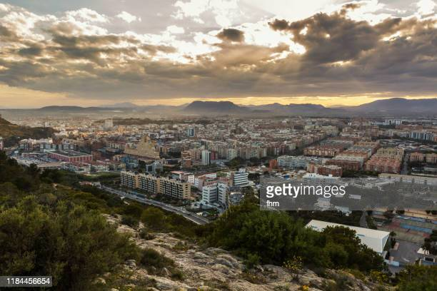 alicante city (province valencia, spain) - alicante photos et images de collection