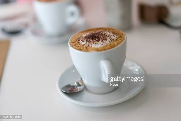 alicante - cappuccino stock pictures, royalty-free photos & images