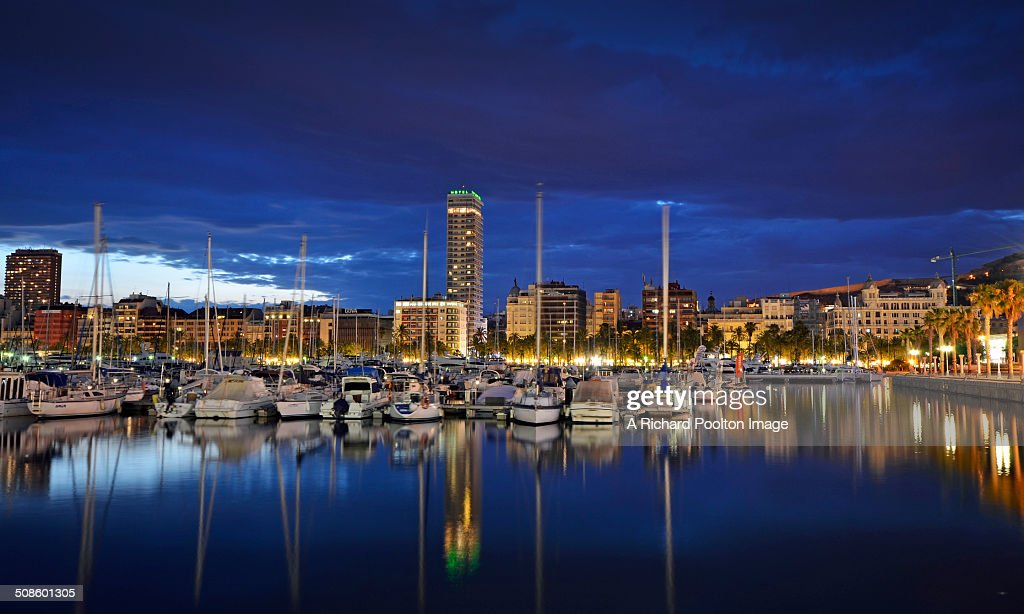 Alicante Reflections : Foto de stock