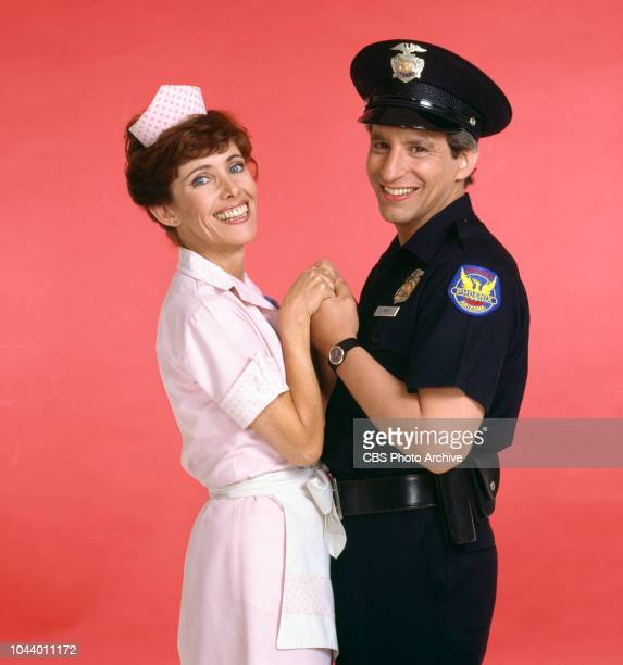 Alice a CBS television situation comedy about characters who work and dine at Mel's Diner January 1 1983 Pictured is Beth Howland and Charles Levin