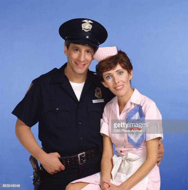 Alice a television situation comedy originally broadcast on CBS Featuring Charles Levin and Beth Howland Image dated June 1 1983