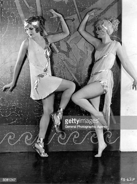 Alice Adair and Maria Corda formerly Maria Farcas the Hungarian actress in 'The Private Life Of Helen Of Troy'