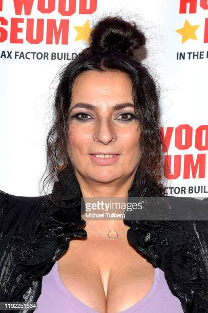 Alice Amter attends Hollywood Museum's Back To The Future Trilogy The Exhibit at The Hollywood Museum on December 05 2019 in Hollywood California