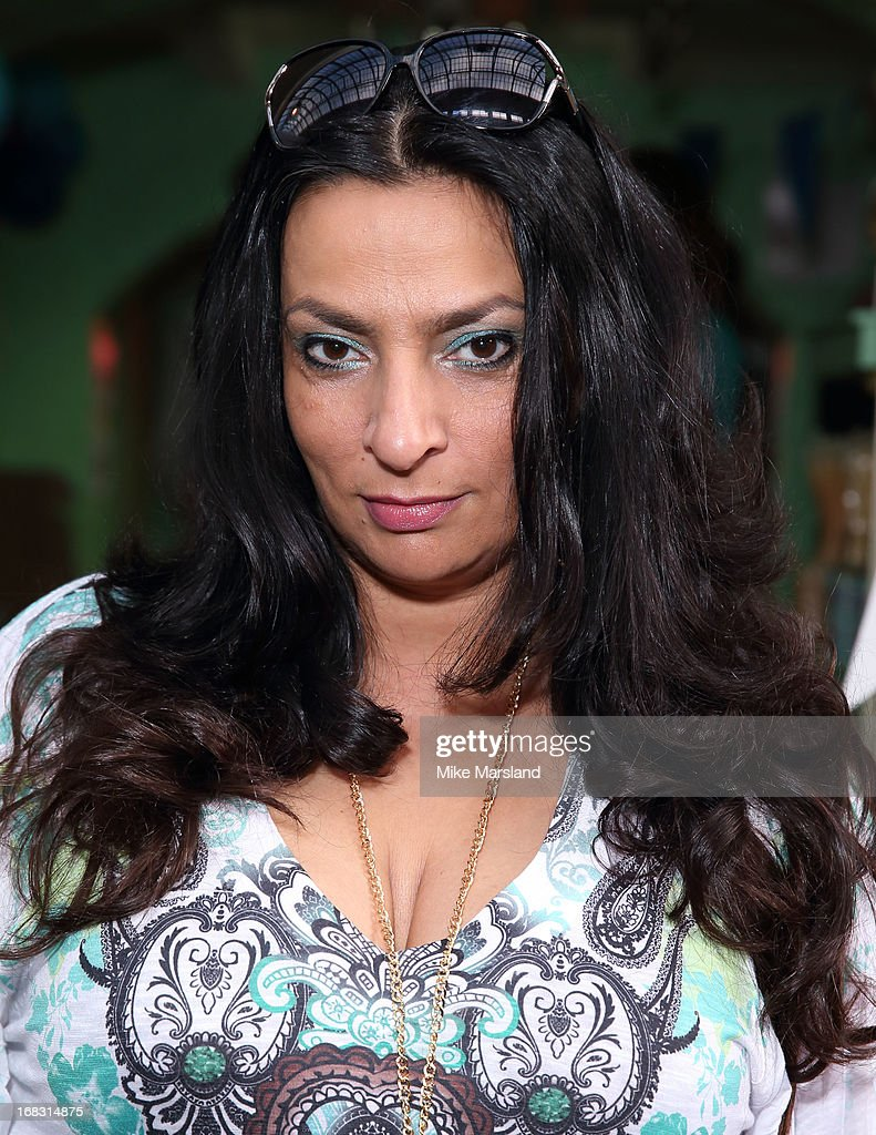Alice Amter attends the Blue Cross tea party on May 8, 2013 in London, England.
