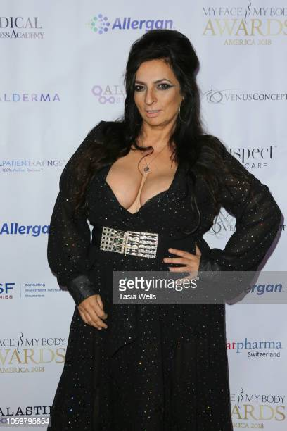 Alice Amter attends the MyFaceMyBody Awards 2018 at the Beverly Wilshire Four Seasons Hotel on November 9 2018 in Beverly Hills California