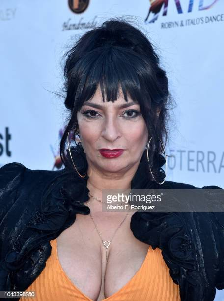 Alice Amter attends the RIDE Foundation's 2nd Annual Dance For Freedon at gala The Broad Stage on September 29 2018 in Santa Monica California