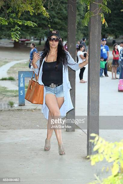 Alice Amter is seen on August 10 2014 in Los Angeles California