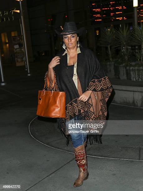 Alice Amter is seen on December 03 2015 in Los Angeles California