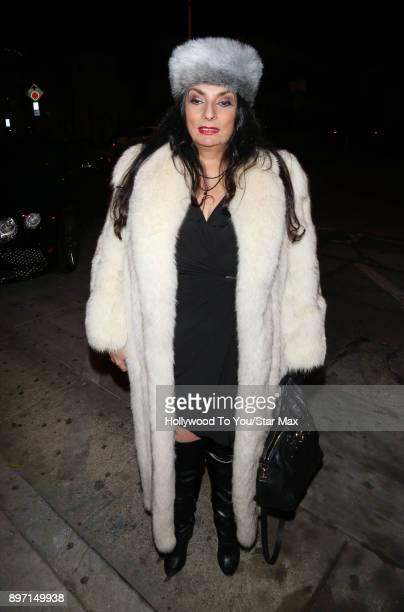 Alice Amter is seen on December 21 2017 in Los Angeles CA