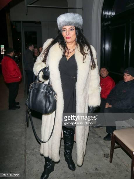 Alice Amter is seen on December 21 2017 in Los Angeles California