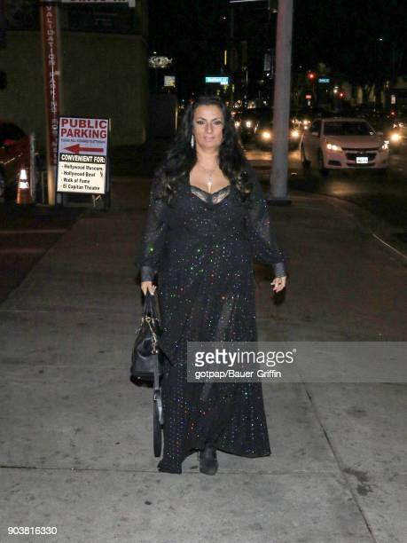 Alice Amter is seen on January 10 2018 in Los Angeles California