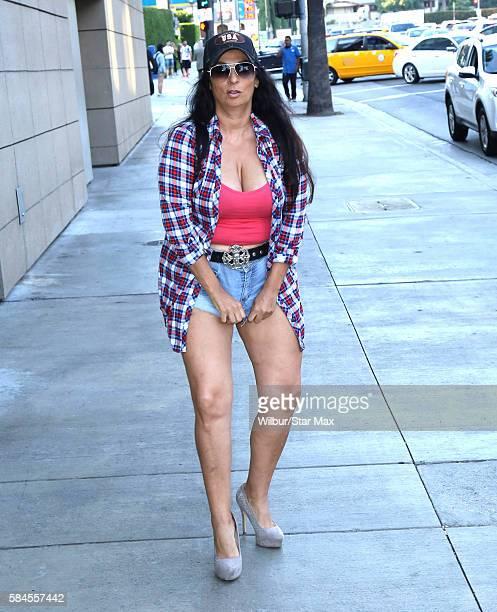 Alice Amter is seen on July 28 2016 in Los Angeles