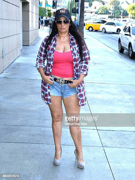 Alice Amter is seen on July 28 2016 in Los Angeles