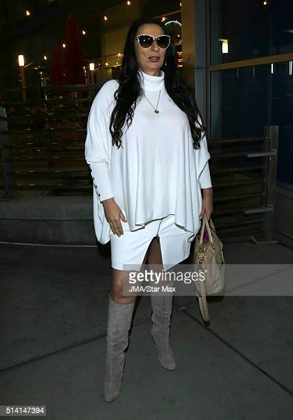 Alice Amter is seen on March 6 2016 Los Angeles CA