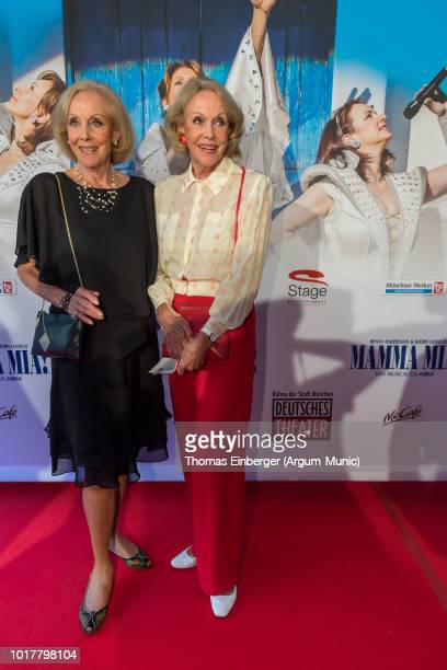 Alice and Ellen Kessler at Deutsches Theatre on August 16 2018 in Munich Germany Photo by Thomas Einberger /Getty Images