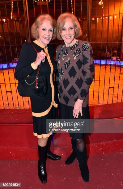 Alice and Ellen Kessler during Circus Krone celebrates premiere of 'In Memoriam' at Circus Krone on December 25 2017 in Munich Germany