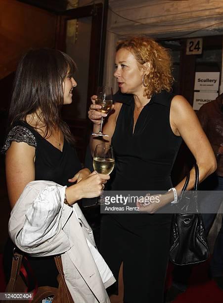 Alice and Katja Riemann attend the after show party to the premiere 'Maennerherzen 2 und die ganz grosse Liebe' at Claerchens Ballhaus on September 7...