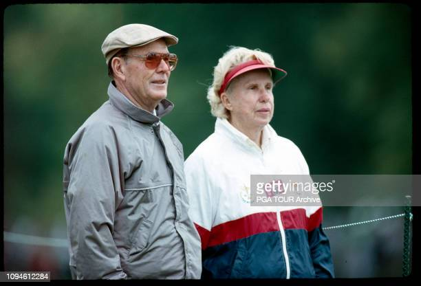 Alice and Pete Dye 1991 PGA Championship Photo by PGA TOUR Archive