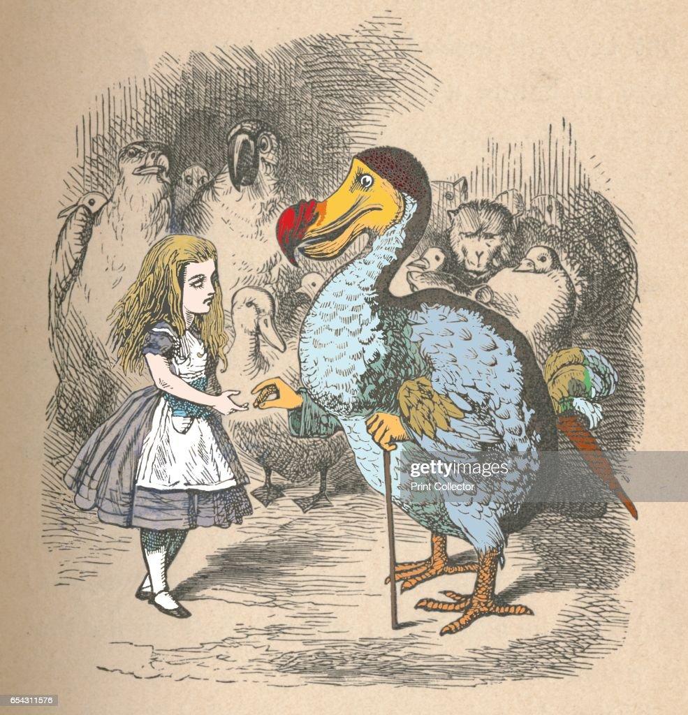 Alice And The Dodo, 1889 : News Photo