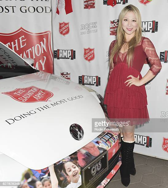 Alice Aoki attends The Salvation Army hosts #RockTheRedKettle Concert at Universal CityWalk on December 4 2016 in Universal City California