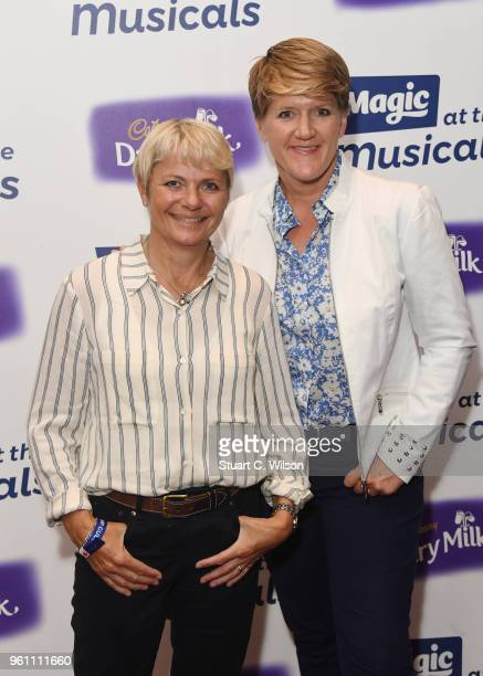 Alice Arnold and Clare Balding attend Magic Radio's event 'Magic At The Musicals' held at Royal Albert Hall on May 21 2018 in London England