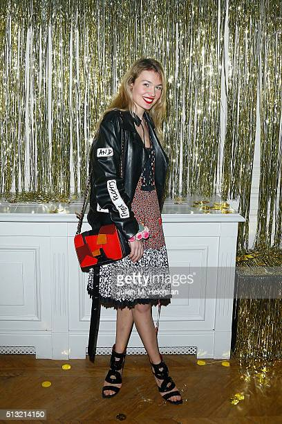 Alice Aufray attends Prom 2016 Party hosted by Coach for the Paris Flagship opening as part of the Paris Fashion Week Womenswear Fall/Winter...