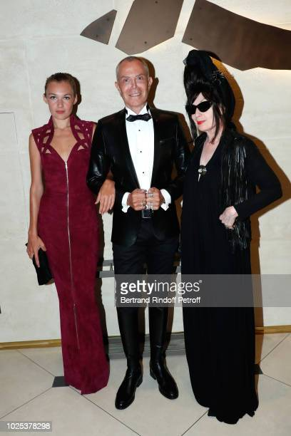 Alice Aufray stylist JeanClaude Jitrois and Diane Pernet attend the Celebrazione Party By Chopard and Generali To Honor The 75th Venice Film Festival...