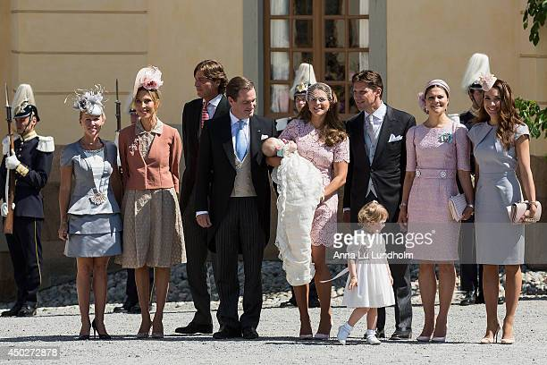 Alice Bamford Tatjana a'Abo Ernst von Abensperg und Traun Christopher O'Neill Princess Madeleine of Sweden Princess Leonore Duchess of Gotland...