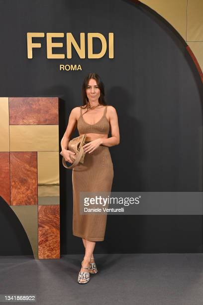 Alice Barbier attends the Fendi Spring Summer 2022 Show during Milan Fashion Week on September 22, 2021 in Milan, Italy.