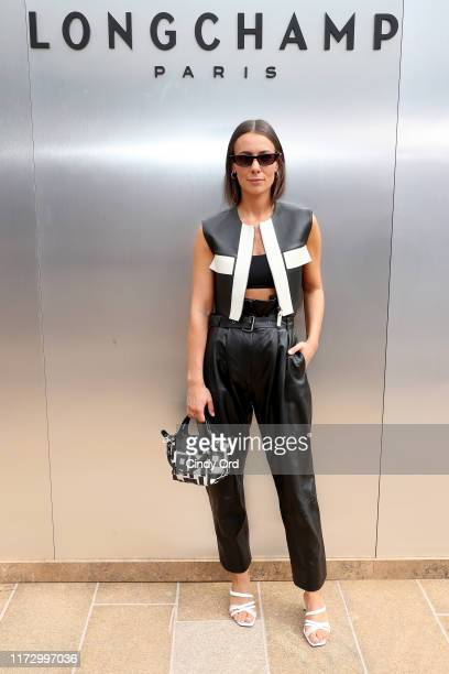 Alice Barbier attends the Longchamp SS20 Runway Show at Hearst Plaza Lincoln Center on September 07 2019 in New York City