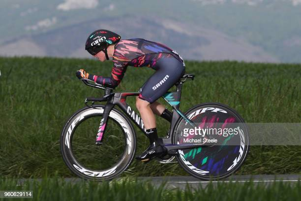 Alice Barnes of Great Britain and CanyonSram Racing during the 31st Women WT EmakumeenBira Stage 2 266km Individual Time Trial from Agurain to...