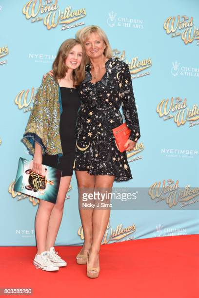 Alice Beer and daughter attend the Gala performance of Wind In The Willows at London Palladium on June 29 2017 in London England