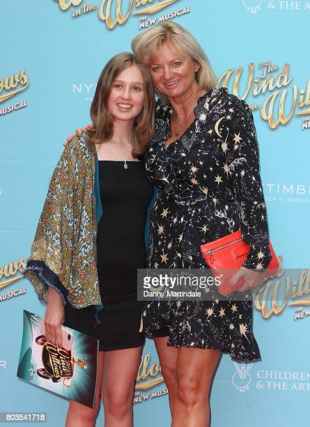 Alice Beer and daughter attends the Gala performance of Wind In The Willows at London Palladium on June 29 2017 in London England