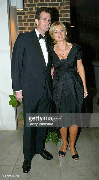 Alice Beer and Guest during Night of the Stars Ball in London United Kingdom