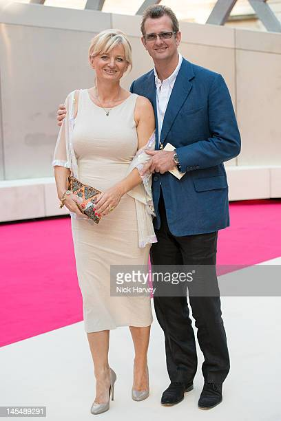 Alice Beer and Paul Pascoe attend the private VIP view of Royal Academy Summer Exhibition 2012 at Royal Academy of Arts on May 30 2012 in London...
