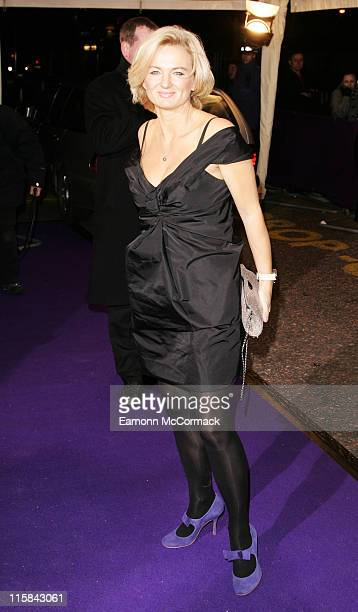 Alice Beer arrives at the British Comedy Awards 2007 at the London Television Studios on December 5 2007 in London England