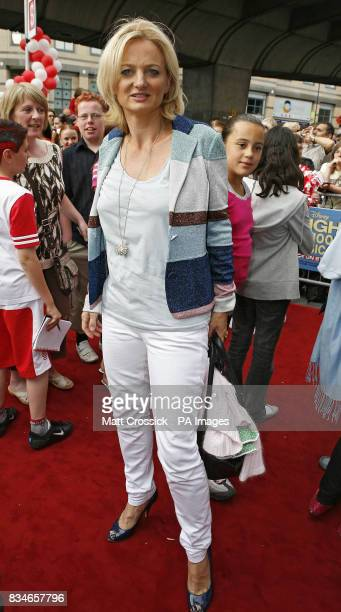 Alice Beer arrives at the premiere of Disney's High School Musical - Live on Stage at the Hammersmith Apollo, London.