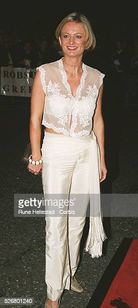 Alice Beer arrives at The Royal Albert Hall for the National TV awards
