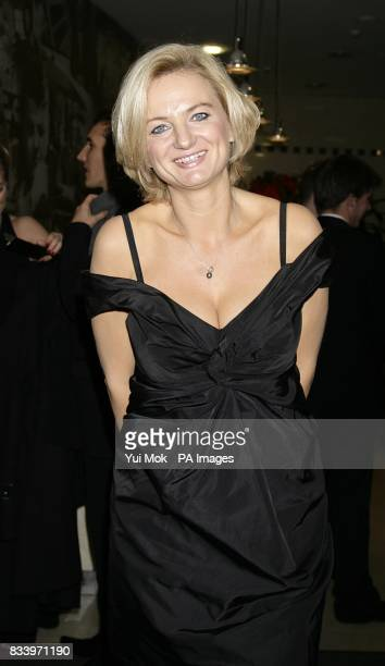 Alice Beer arrives for the 2007 British Comedy Awards at The London Studios, Upper Ground, London, SE1.