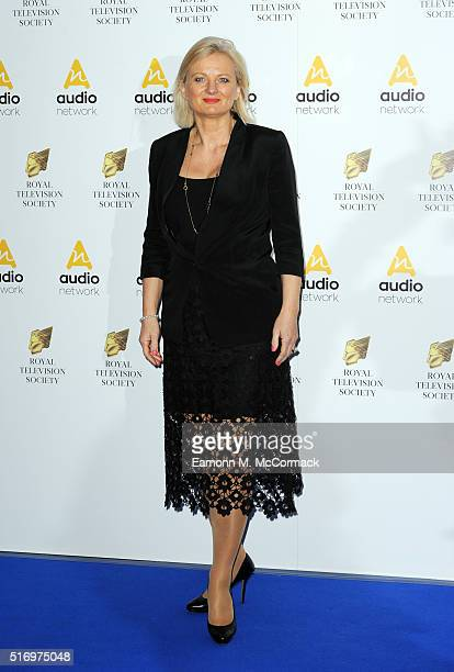 Alice Beer arrives for The Royal Television Society Programme Awards at The Grosvenor House Hotel on March 22 2016 in London England