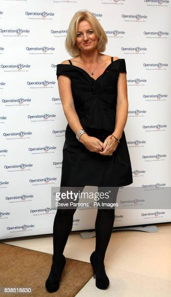 Alice Beer arriving at the 10th anniversary celebration of international medical services charity Operation Smile at The Hurlingham Club...
