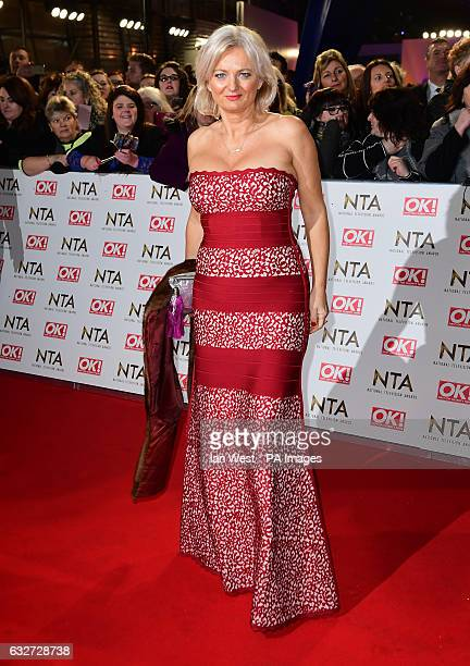 Alice Beer arriving at the National Television Awards 2017, held at The O2 Arena, London. PRESS ASSOCIATION Photo. Picture date: 25th January, 2017....