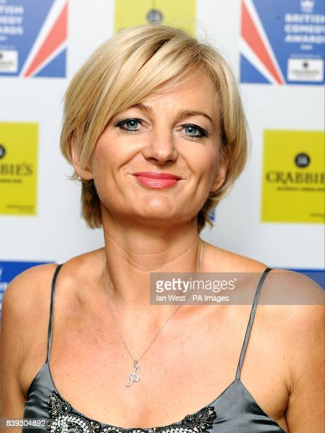 Alice Beer arriving for the British Comedy Awards 2009 at London Television Studios