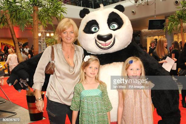 Alice Beer arriving for the UK premiere of Kung Fu Panda 2 at the Vue Westfield Westfield shopping centre